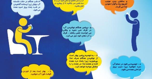 اداب نوشیدن اب در اسلام